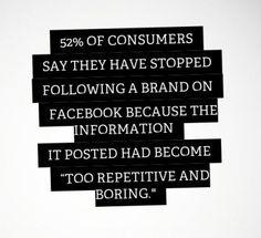 ¿Por qué los usuarios dejan de seguir las marcas?