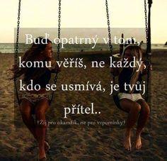 Přátelé nemám Words Can Hurt, Be A Better Person, Carpe Diem, It Hurts, Humor, Language, Lol, Motivation, Quotes