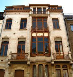 Архитектура модерна - Виктор Орта (1861–1947) (68 работ)