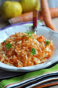 Przepisy na surówki do obiadu - Damsko-męskie spojrzenie na kuchnię Fried Rice, Risotto, Fries, Ethnic Recipes, Food, Essen, Meals, Nasi Goreng, Yemek