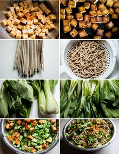 vegan-yums:     Spicy Soba Noodles with Pan Seared Tofu