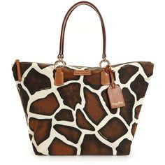 Dooney & Bourke Handbag, Nylon Printed Large Shopper found on Polyvore
