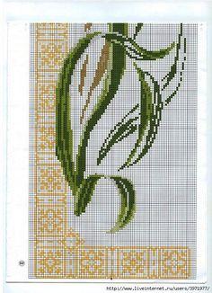 Ирис вышивка схема риолис
