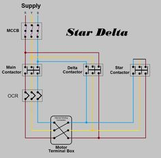 Star Delta 3-phase Motor Automatic starter with Timer | Star ...