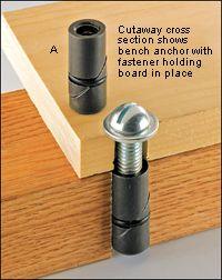 Veritas® Bench Anchor - Lee Valley Tools