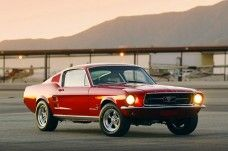1967 Fastback Ford Mustang in red. Ford Mustang 1967, Red Mustang, Ford Mustang Fastback, Mustang Cars, Ford Mustangs, Classic Mustang, Ford Classic Cars, Pony Car, Us Cars