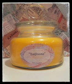 Tweelfmoons yellow scented candles sks kandles