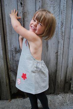 """Kleider - Mädchenkleid """"Gina"""" - ein Designerstück von LUGIMO bei DaWanda"""