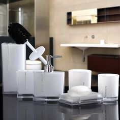 Find More Bathroom Accessories Sets Information about 2016 Toothbrush Holder Holder Banheiro Bathroom Set Six Piece Toiletries Kit European Simple Fashion Shukoubei Yagang Wedding ,High Quality toothbrush holder,China bathroom set Suppliers, Cheap bathroom set toothbrush holder from Commodity wholesale 2 on Aliexpress.com