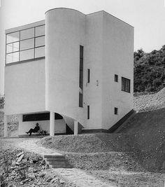 József Fischer - House, Budapest, Hungary, 1933-34