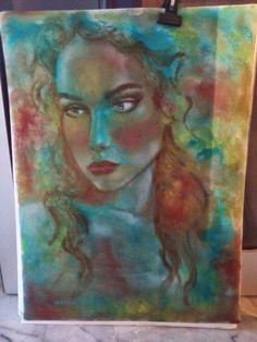 PrisecariuGeaninaArt: work in progress. Art Paintings, Colourful Art