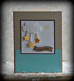 Stampin' Up! Baby Card by Mercedes Weber at Creations by Mercedes