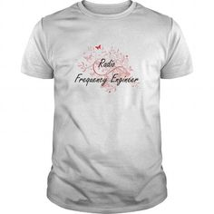 Radio Frequency Engineer Artistic Job Design with Butterflies T Shirts, Hoodies. Check Price ==► https://www.sunfrog.com/Jobs/Radio-Frequency-Engineer-Artistic-Job-Design-with-Butterflies-White-Guys.html?41382