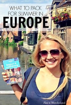 What I packed for seven weeks in Europe including stops in London, Malta, Belgium and Greece. | Alex in Wanderland