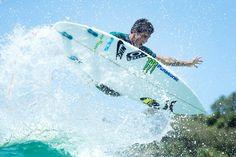 Filipe Toledo (BRA) boosts during the Carlton Dry Expression Session. Quiksilver Pro Gold Coast 2015
