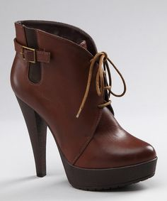 I know it's not Fall, but these are gorgeous! Cognac Adiras Bootie by Charles David