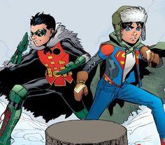 Superman Family, Batman And Superman, Jon Kent, Clark Kent, Superhero Characters, Dc Characters, Young Avengers, Comic Pictures, Tatoo Art