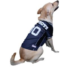 Dallas Cowboys Dog Jersey- Offically Licensed NFL Pet Clothes at  Glamourmutt.com Dallas Cowboys 2cb9f50ea
