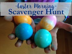 That time I created an Easter scavenger hunt for my kids. Easter Shenanigans