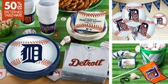 Detroit Tigers Party Supplies - Party City   http://www.partycity.com/product/detroit+tigers+party+supplies.do