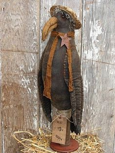 primitive+crows | primitive doll patterns | PriMiTiVe CrOw DoLL ... | CROWS/PRIMITIVE B ...
