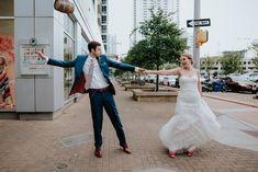 Click to see more photos from this downtown Malverde wedding // Austin wedding // Austin Wedding Photographer // Downtown wedding bride and groom