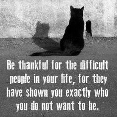 haveurattitude | be thankful for the difficult people in your life