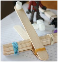 Popsicle Stick Catapult For Kids Hands-On STEM Activities for Play and Learning Popsicle stick catapults are easy and quick to build at home with a few simple materials. Science activities around the house and simple math explorations are great for preschool STEM {Science, Technology, ...