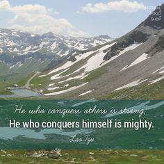 #quotes #conquers #mighty #LaoTzu