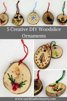 DIY Ornaments Christmas Cafts