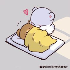 Images Kawaii, Cute Couple Cartoon, Cute Cartoon Pictures, Cute Love Pictures, Chibi Cat, Cute Chibi, Calin Gif, Gif Mignon, You Are My Moon