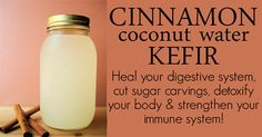 Coconut Water Kefir can help heal the gut, improve immune function and prevent cancer. Here is how to make it!