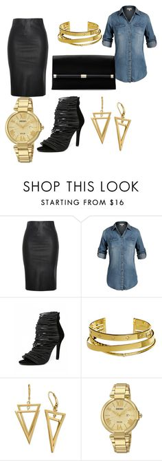 """always denim"" by ruth-jaimie-hollingsworth on Polyvore featuring Relaxfeel, Elizabeth and James, Seiko Watches and Diane Von Furstenberg"