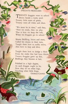 Childcraft: Poems of Early Childhood (Volume One) published by Field Enterprises in 1949. Illustration by Roger Duvoisin.