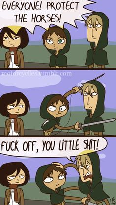 This little troll || Attack on Titan ♜