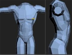 low poly character modeling - Google Search