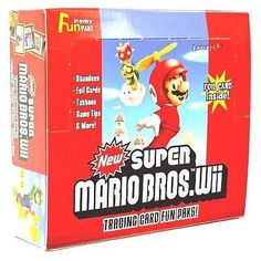 Super Mario Bros. Wii trading card