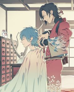 Koujaku x Aoba Render by ShizuSally on DeviantArt Anime Nerd, Anime Guys, Manga Boy, Manga Anime, Overwatch, Nitro Chiral, Mikuo, Dramatical Murder, Cute Anime Boy