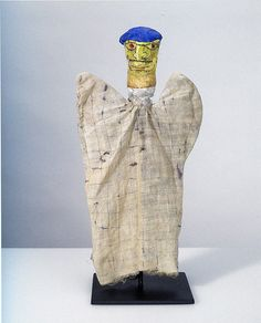 Artist: Paul Klee (he made hand puppets for his son, Felix)