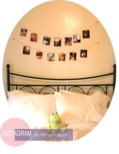 Instagram photo display   #postalpix #instagram #diy