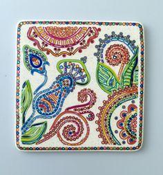 FIMO 50 World project tile from Olga Perova, Australia