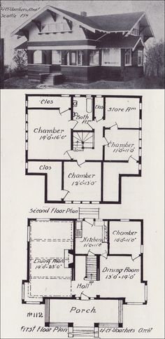 Early 1900 39 s bungalow plan style gable house for 1900 bungalow house plans