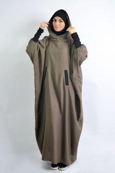 Niqab Fashion, Modern Hijab Fashion, Islamic Fashion, Muslim Fashion, Modest Fashion, Fashion Dresses, Hijab Dress, Hijab Outfit, Abaya Mode
