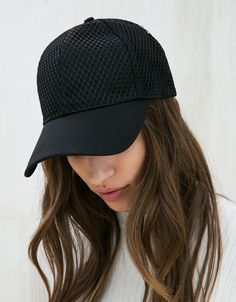 Mesh cap. Discover this and many more items in Bershka with new products  every week 37319298ab0e