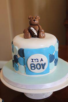 baby shower cake baby shower cake sports theme baby shower
