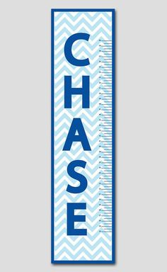 Classic Navy Growth Chart To Match Any Blue Nursery We Can Make