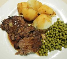 Bavarian Beef Roast as they make it in Bavaria. Authentic German recipe. The…