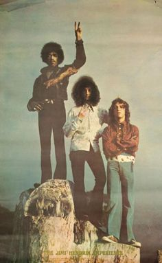 The Jimi Hendrix Experience 1969 Had this poster in my apt