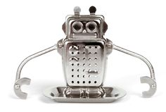 It's always tea time with Robot the Tea Infuser by Kikkerland.
