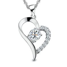 Prime Day Deal - You Are the Only One in My Heart Sterling Silver Pendant ...